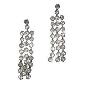 Michael Kors Long Dangle Sparkle Earrings